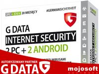G Data Internet Security 2PC+2xAndroid / 20 miesięcy