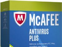 McAfee AntiVirus PLUS 3PC / 1Rok