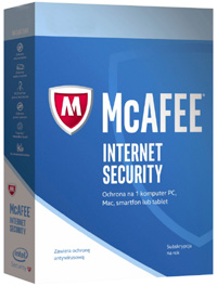 Kup McAfee Internet Security 10PC /1Rok