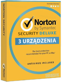 Kup Norton Security Deluxe 3PC / 1Rok promocja