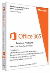 Kup Microsoft Office 365 Business Standard 5PC na 12 miesięcy