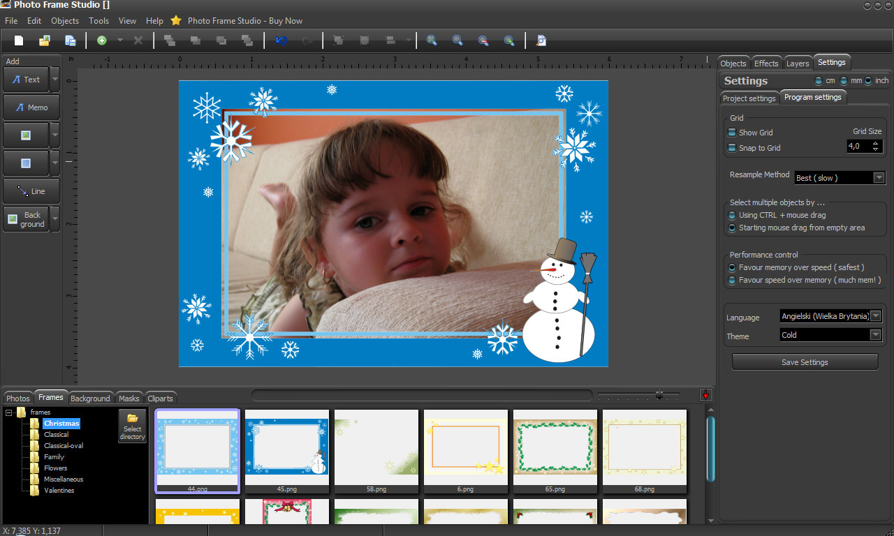 Ramki program do ramek photo frame studio ramki do zdjec cyfrowe ramki for Freepl