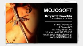 business card cosmetic