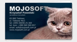 business cards animals