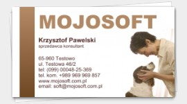 sample business cards animals