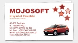 business card auto