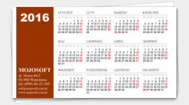 Business cards templates calendars for 2016 . Samples and ...