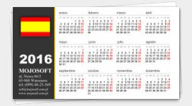 example business cards calendar