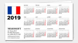 sample business cards calendars 2020