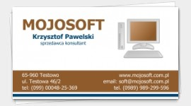 example business cards Computer Consultant