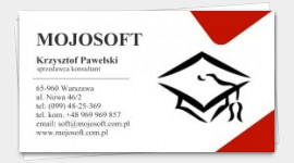 sample business cards Education