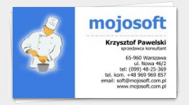 business cards Cooking