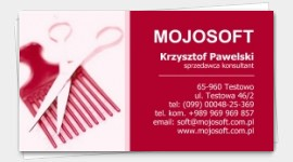 business cards Hair Salon