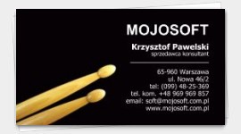 templates business cards musician