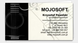 business card musician