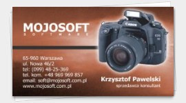 templates business cards Video Cameraman