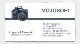 business cards Cameraman