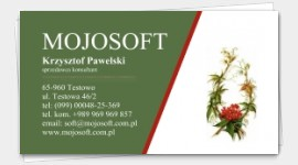 business cards Gardening